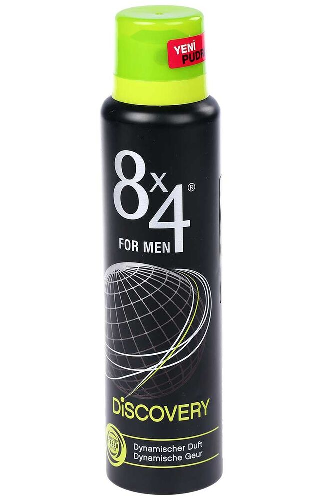 Image for 8X4 Deodorant Spray Discovery from Eskişehir