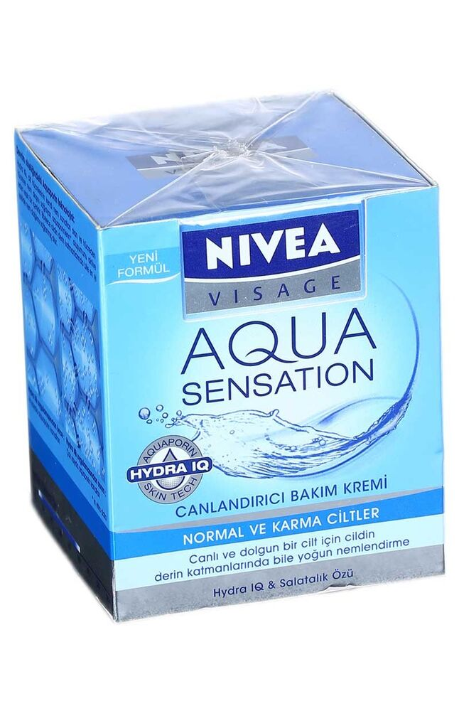 Nivea Visage All Day Aqua Krem 50Ml