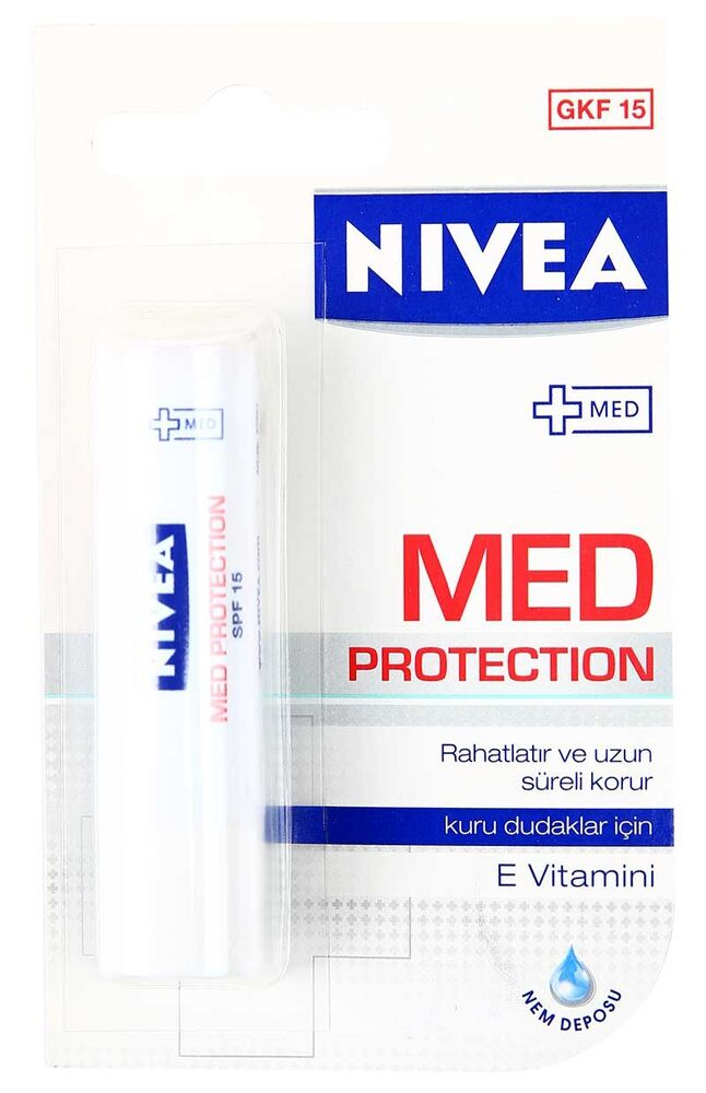 Image for Nivea Lip Medicated Kuru Ve Çatlamış Dudaklar from Bursa