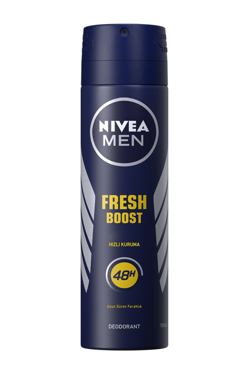 Image for Nivea Deodorant Fresh 150 Ml Power Boost Sprey from Bursa