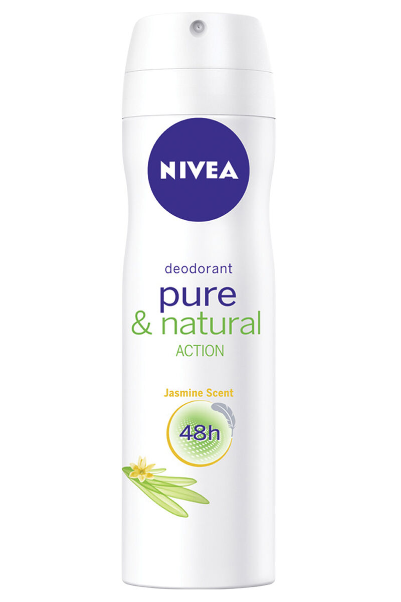 Image for Nivea Deodorant Pure&Natural Jasmen Bayan 150Ml from Antalya
