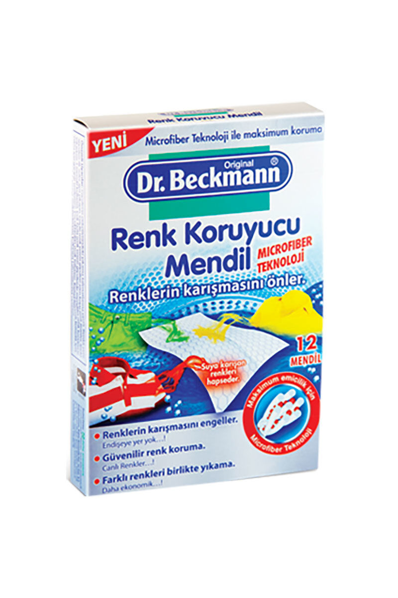 Image for Dr.Beckman Renk Koruyucu Mendil 12Li from Bursa