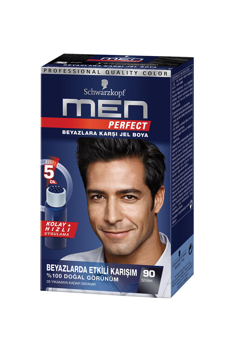 Image for Men Perfect 90 Siyah Erkek Saç Boyası from Bursa