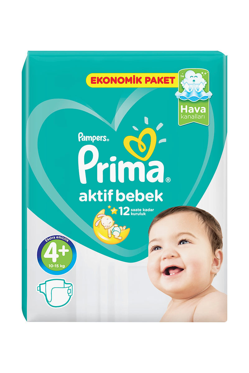 Image for Prima Bebek Bezi Ekonomik Maxi Plus(4+) 9-16 Kg 42 Ped from Kocaeli