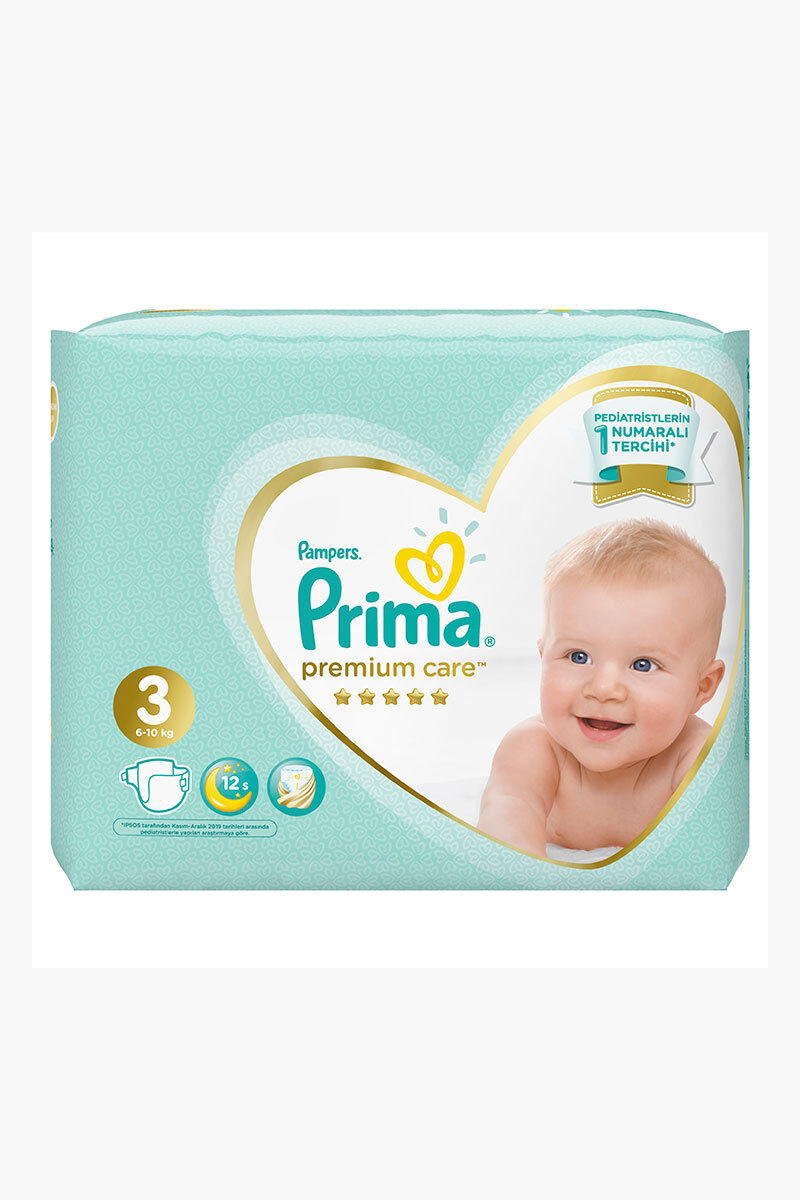 Image for Prima Bebek Bezi İkiz Premium Care Midi(3) 4-9 Kg 42 Ped from Antalya