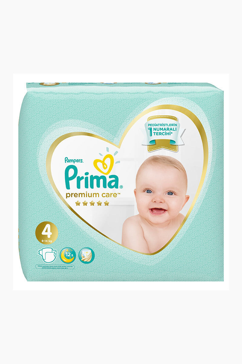 Image for Prima Bebek Bezi İkiz Premium Care Maxi(4) 8-14 Kg 35 Ped from Antalya