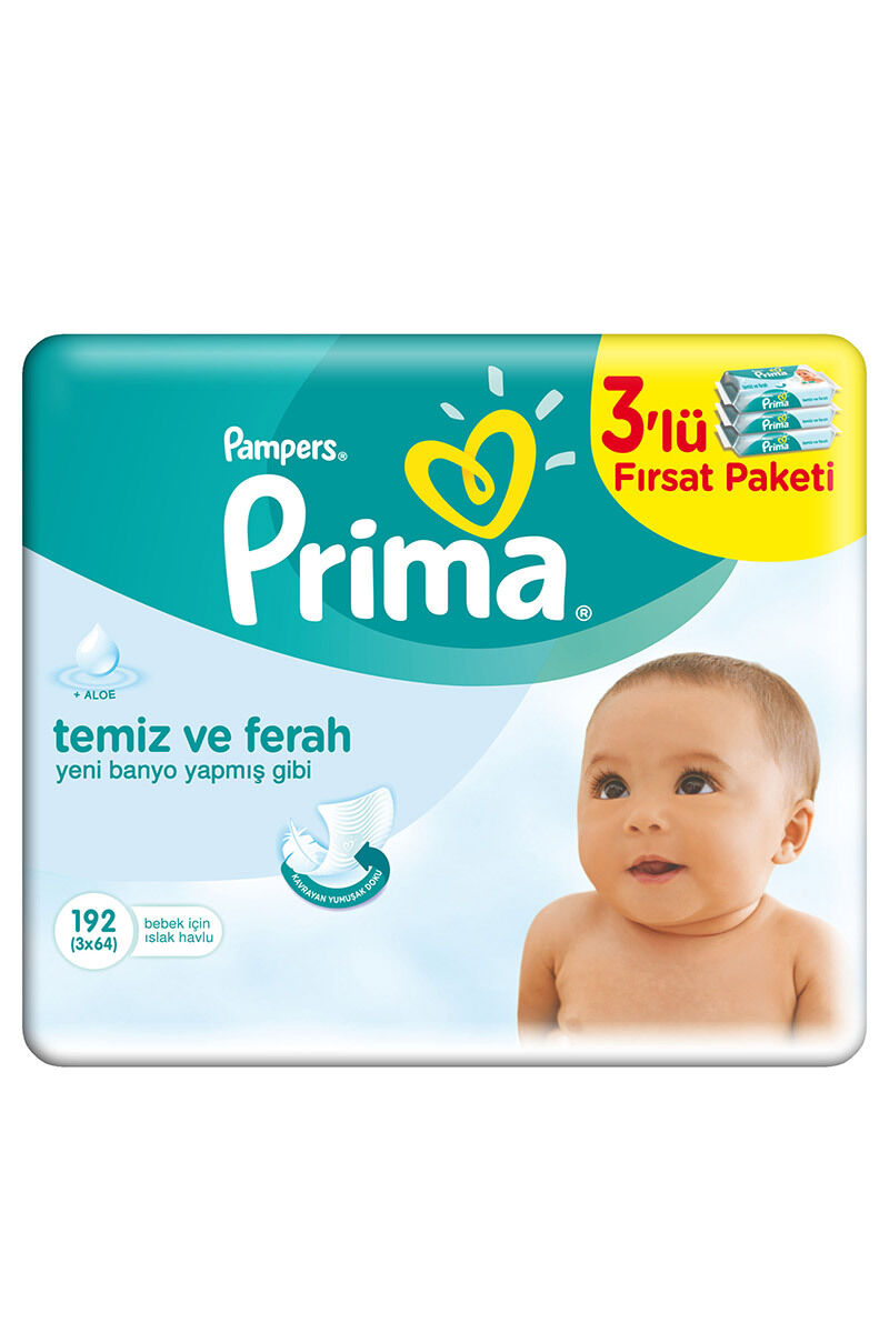Image for Prima Islak Havlu Pampers 3'Lü Fresh from Antalya
