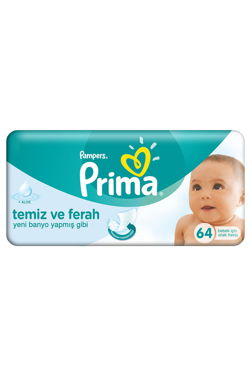 Image for Prima Islak Havlu Pampers 64'Lü from Antalya