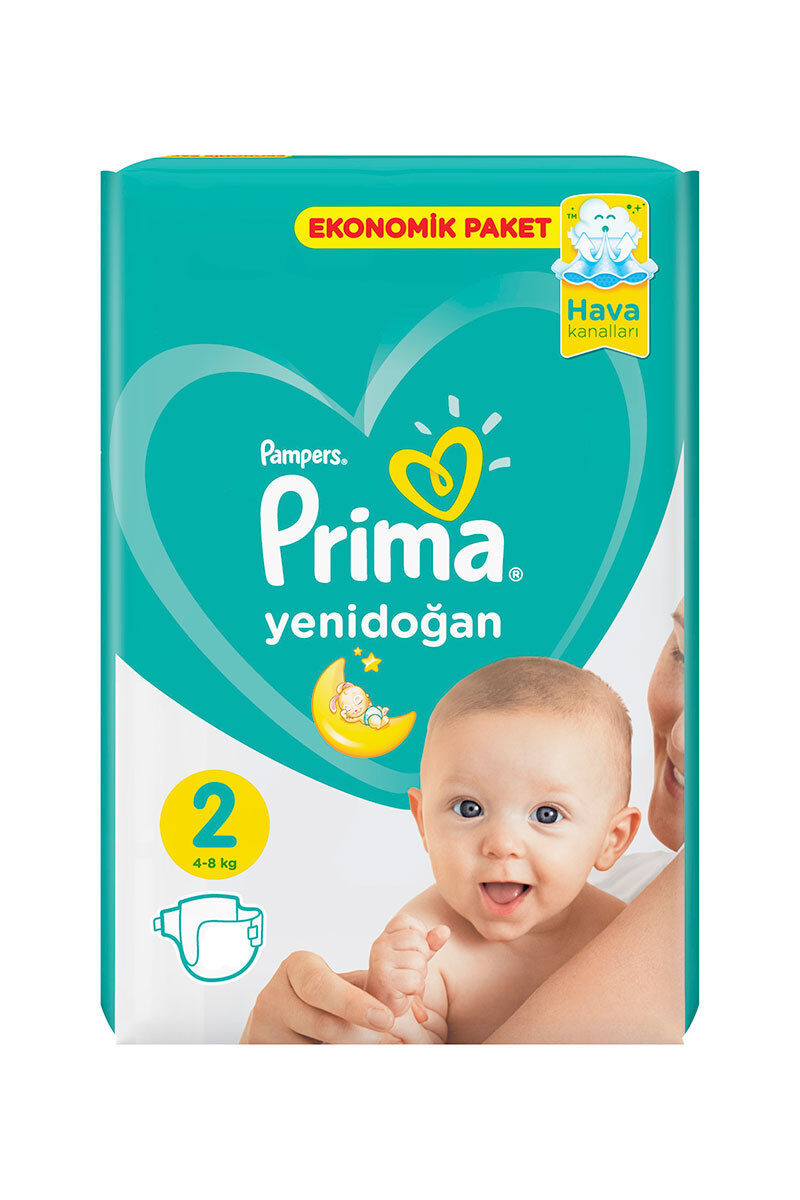 Image for Prima Bebek Bezi Ekonomik Mini (2) 3-6 Kg 78 Ped from İzmir