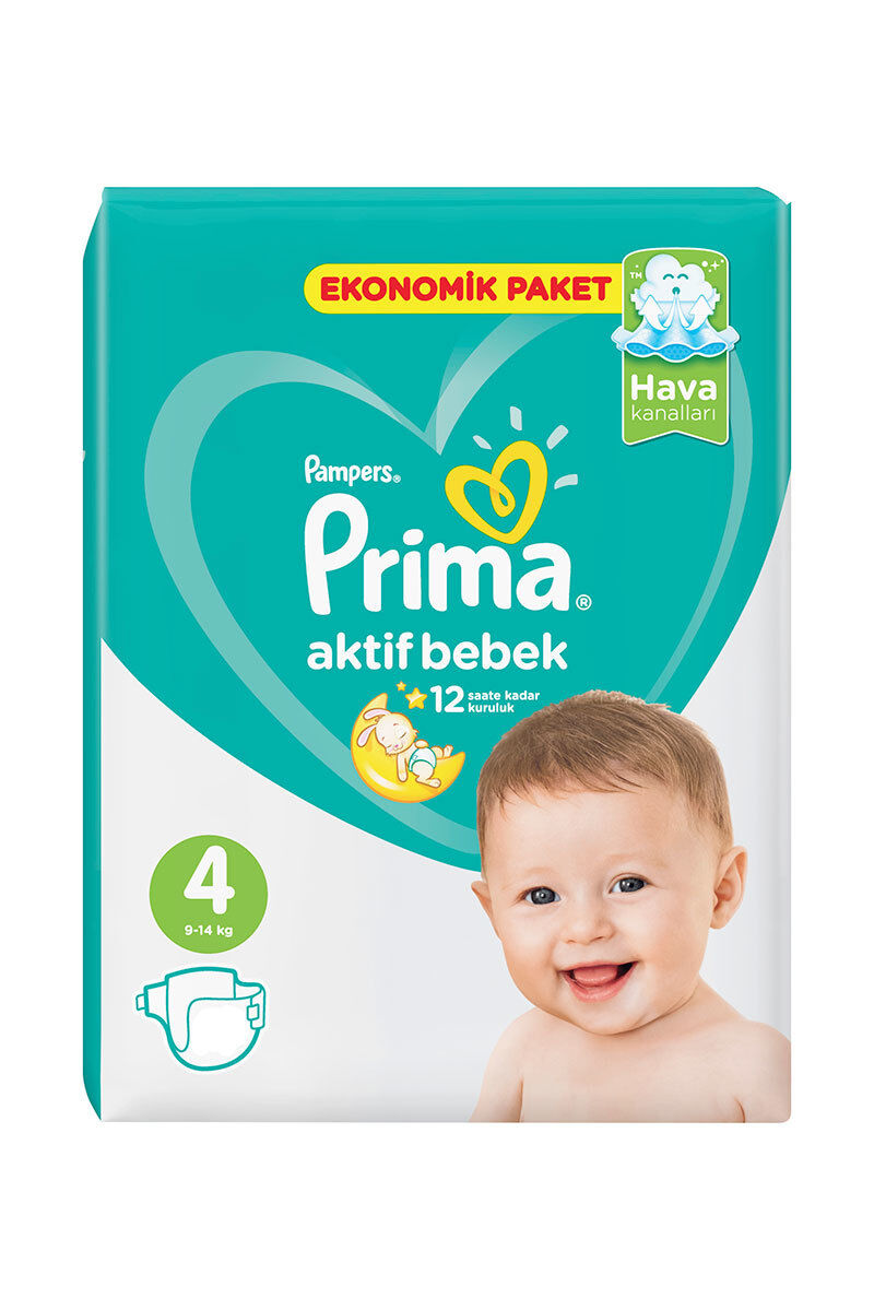 Image for Prima Bebek Bezi Ekonomik Maxi(4) 8-14 Kg 45 Ped from Bursa