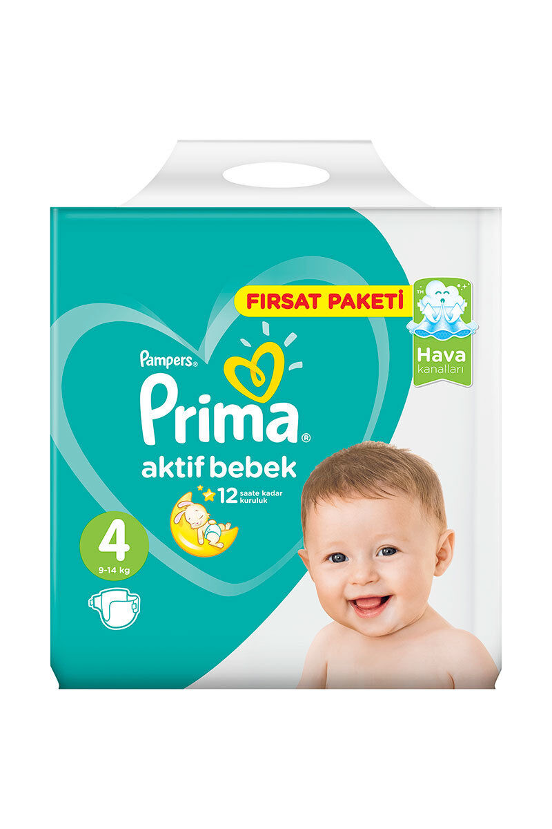 Image for Prima Hiper Ekonomik Maxi (7-14 Kg 74 Ped 4) from Antalya