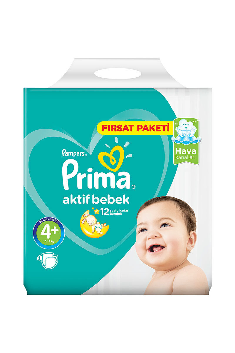 Image for Prima Hiper Ekonomik Maxi Plus (9-16 Kg 72 Ped 4+) from Kocaeli