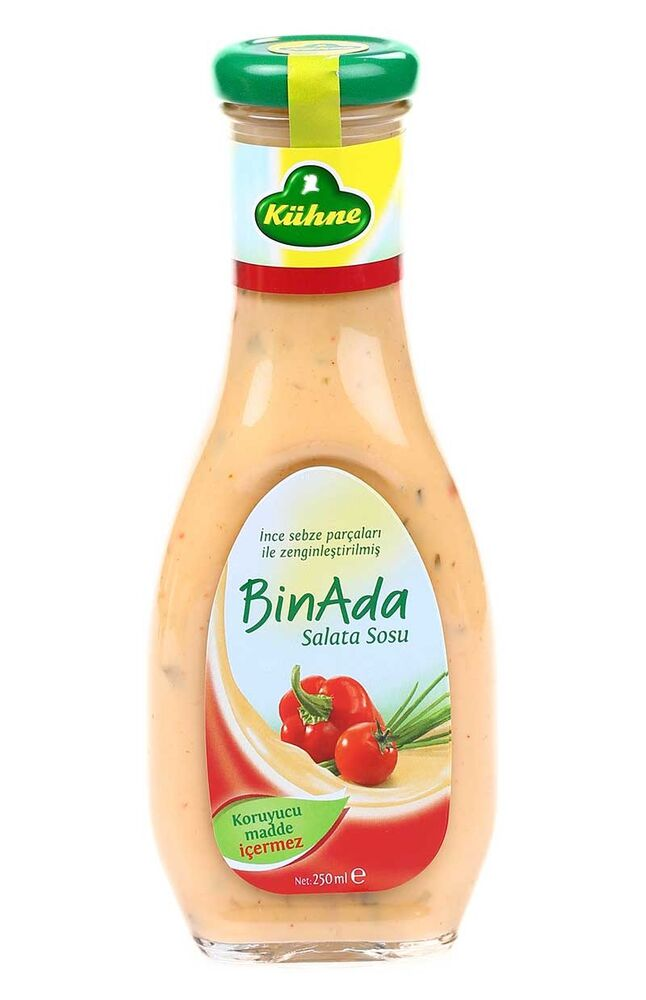 Image for Kühne Salata Sosu (Bın Ada) 250 Ml from Eskişehir