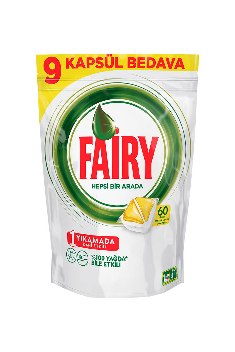 Image for Fairy Tablet Hepsi Bir Arada 65 Li Sarı from Bursa