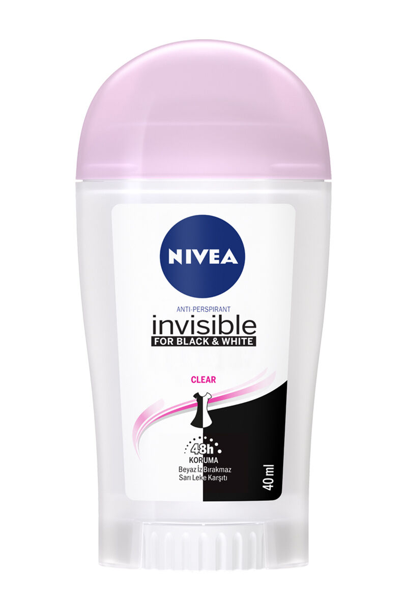 Nivea Stick Black&White Clear Bayan