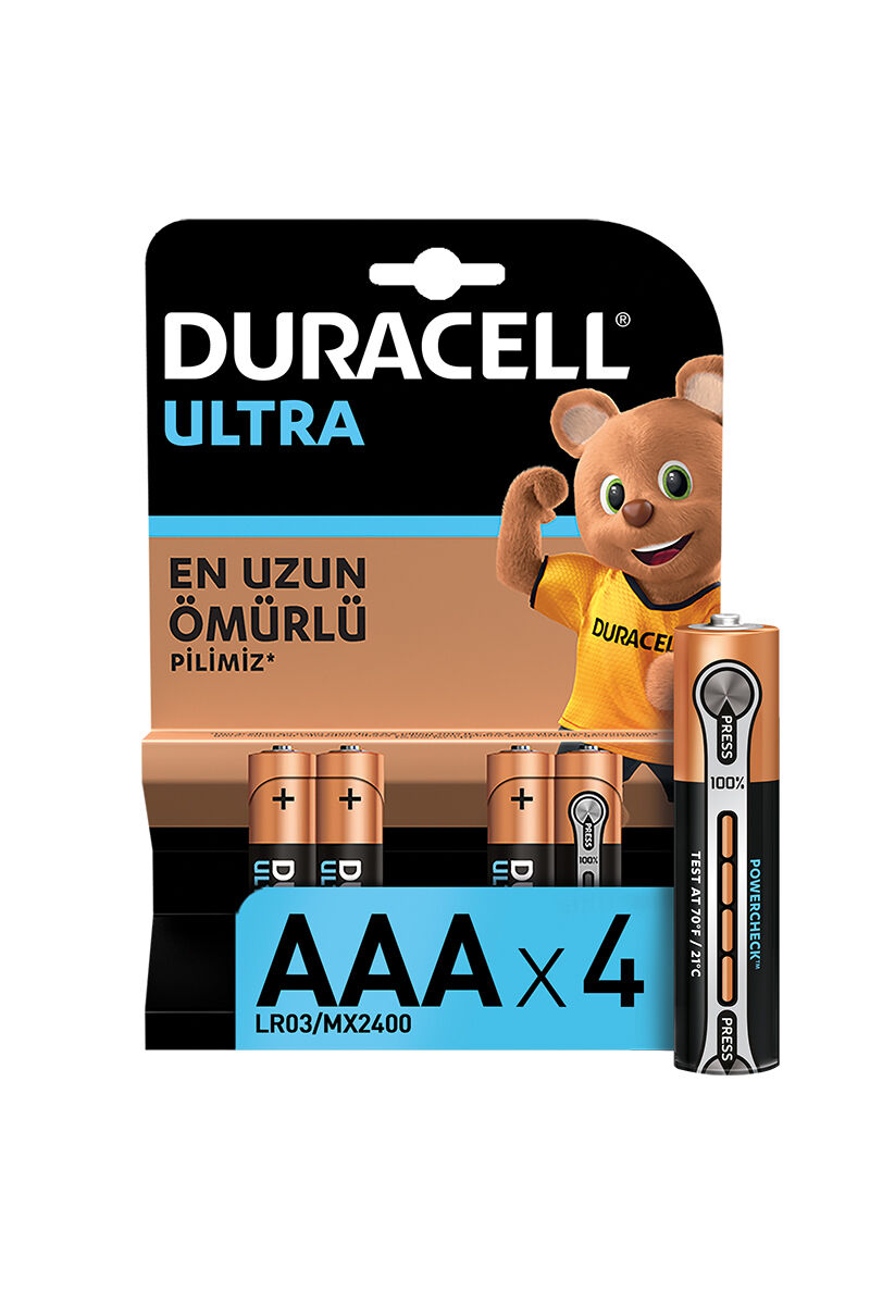 Image for Duracell Turbo Aaa 4'Lü Pil from Antalya