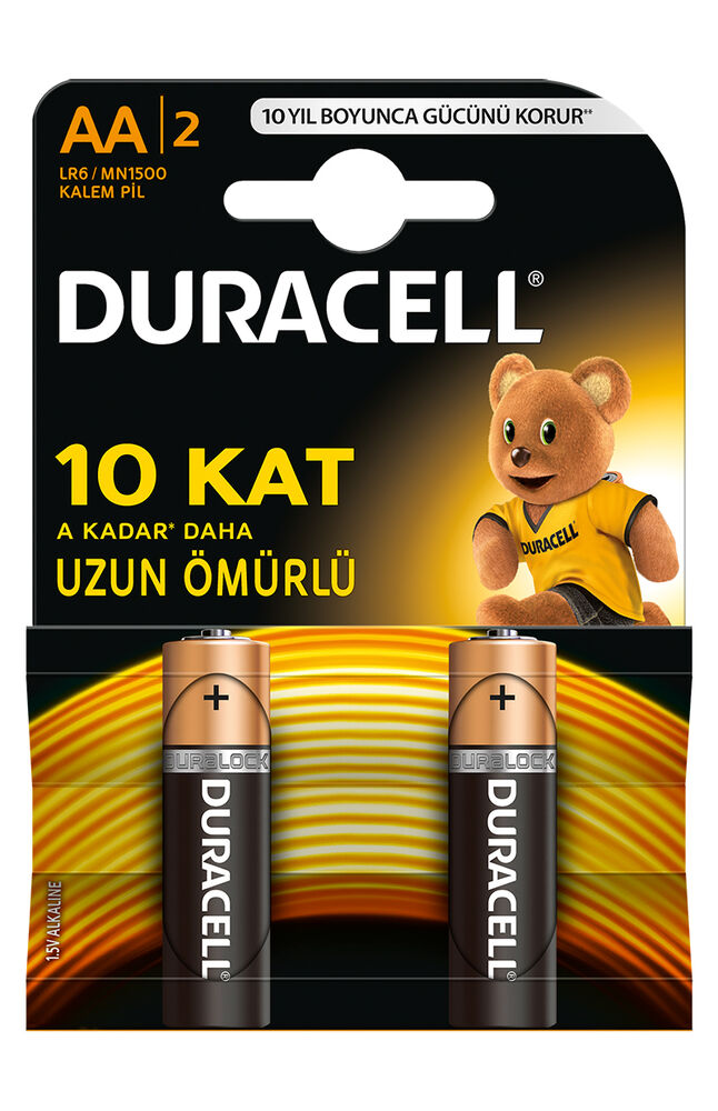 Image for Duracell Aa 2'Li Pil from Eskişehir