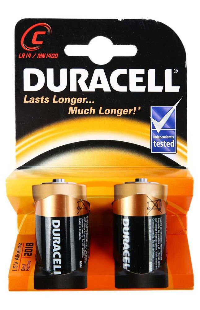 Image for Duracell C 2'Li Pil from Bursa