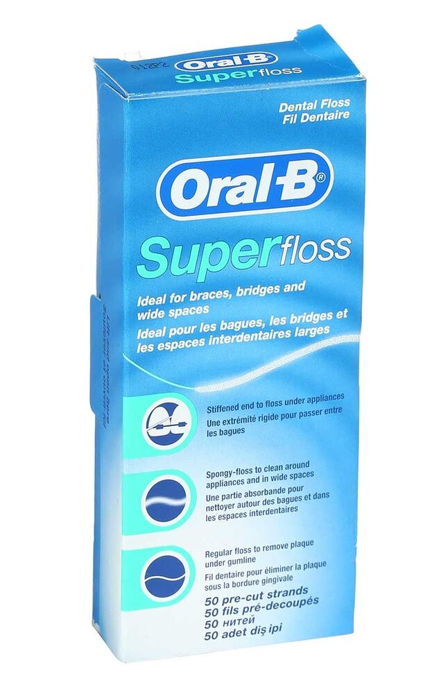 Oral B Diş İpi Superfloss