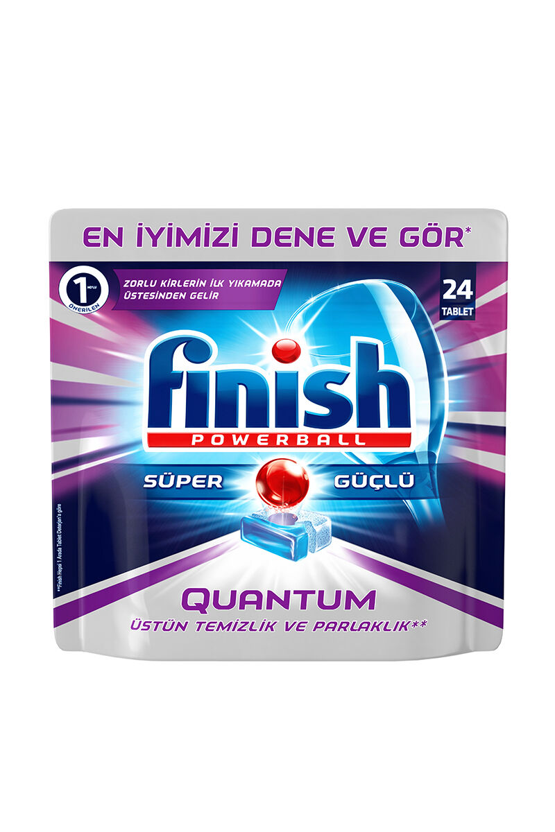 Finish Quantum Tablet 24 Yıkama