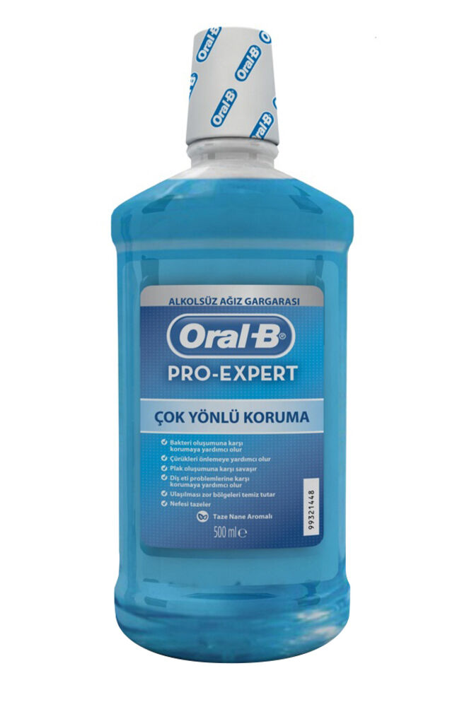 Image for Oral B Ağız Suyu 500Ml Gargara Alkolsüz from Bursa