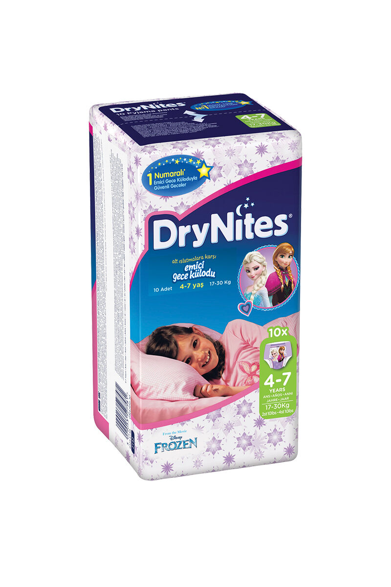 Image for Huggies Bebek Bezi Dry Nites Small Kız 17-30 Kg 10 Ped from Bursa
