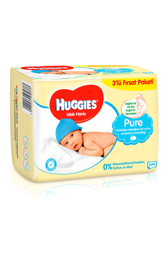 Image for Huggies Islak Havlu 56*3 Yenidoğan from Bursa
