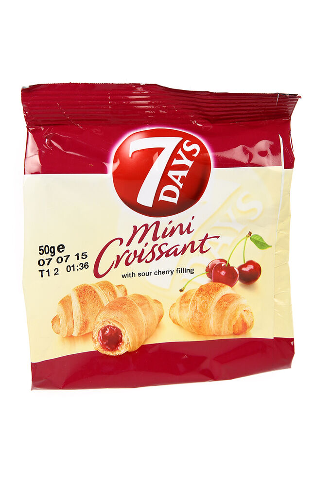 7 Days Mini Kruvasan Vişneli 60 Gr.