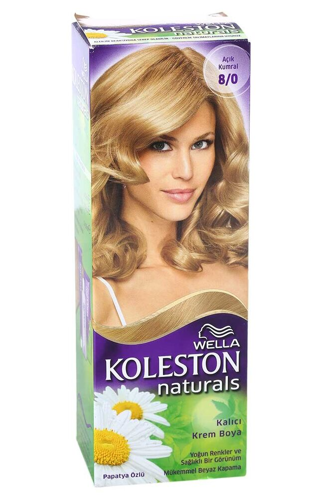 Image for Koleston Naturals Saç Boyası Maxi 8/0 from Kocaeli