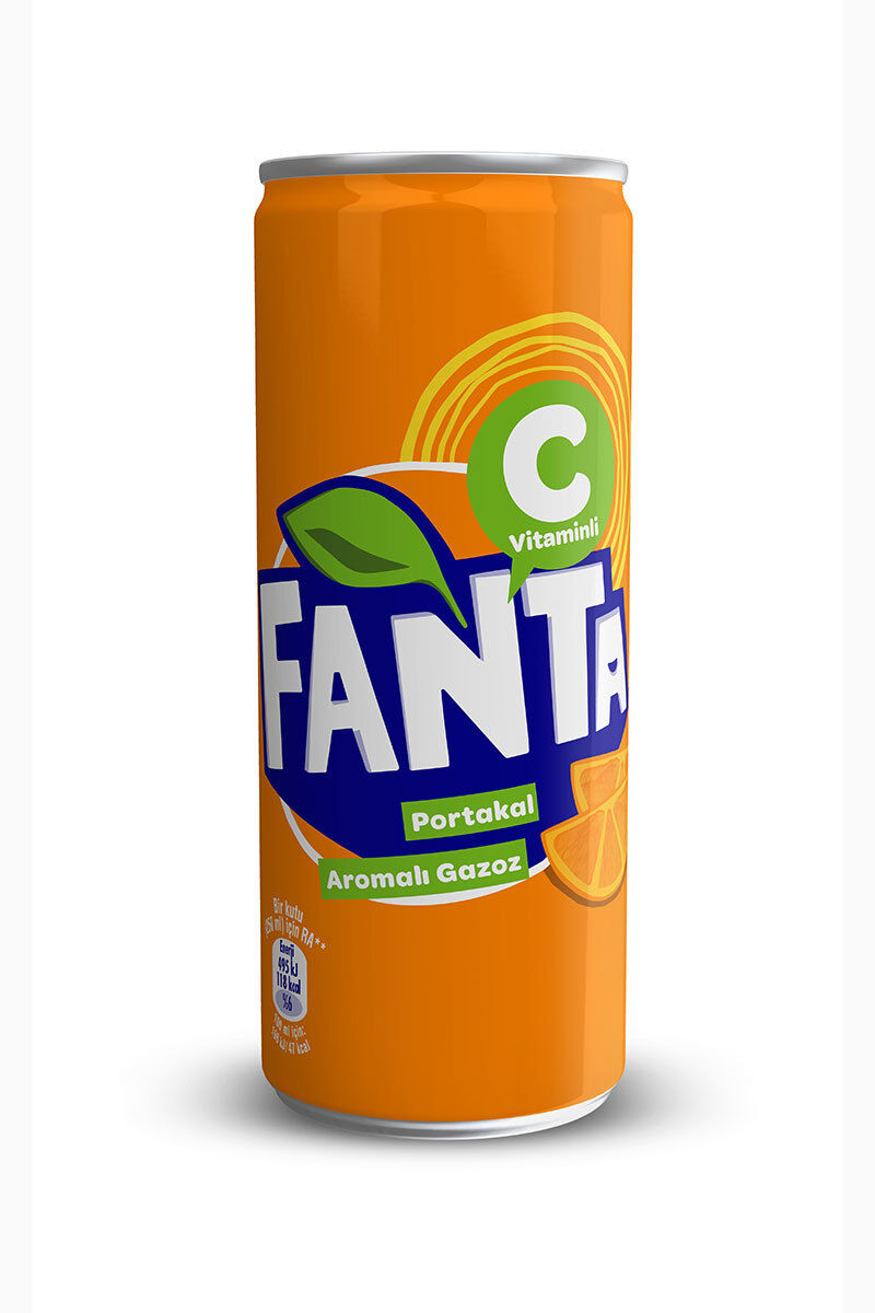 Image for Fanta 250Ml Kutu from Kocaeli