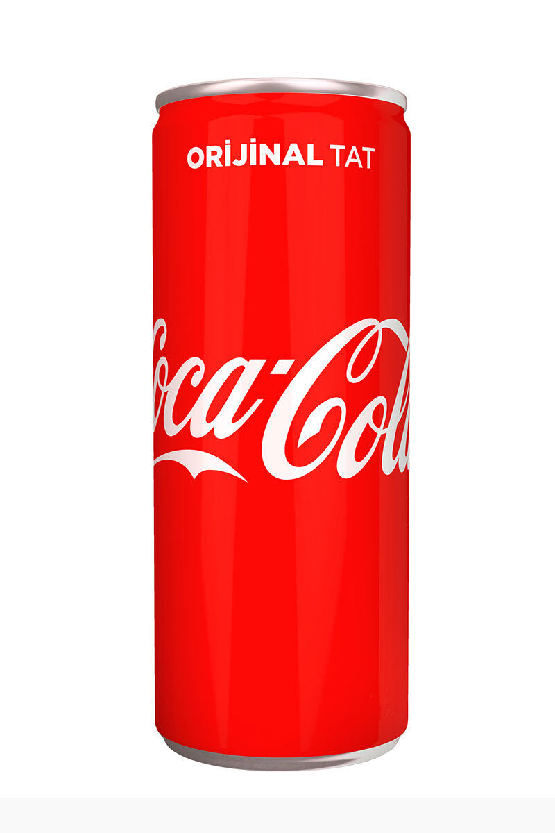 Coca Cola Kutu 250Ml