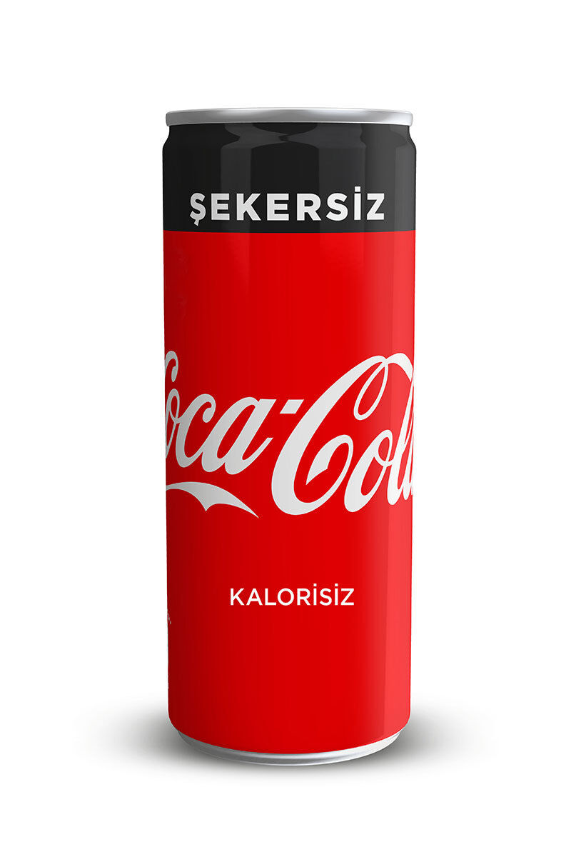 Coca Cola Zero Kutu 250Ml