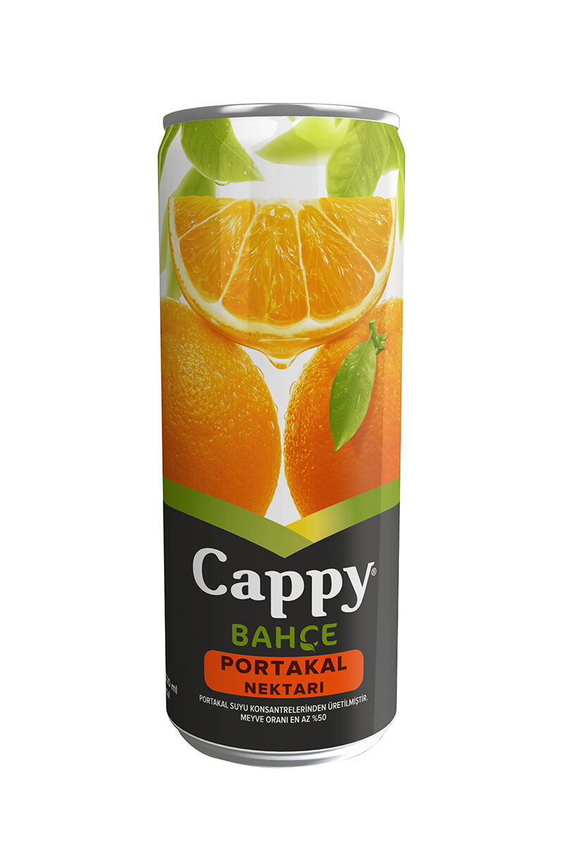 Cappy 330 Ml Portakal Nekt.