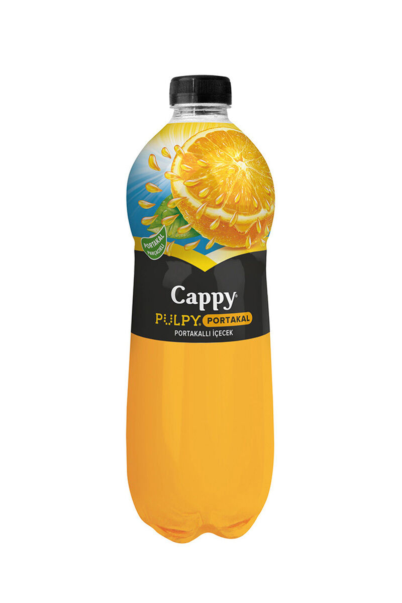Cappy Pulpy Portakal 330 Ml Pet