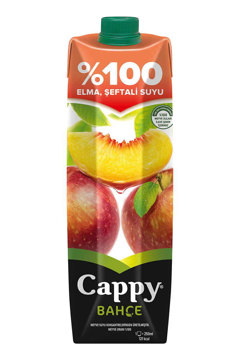 Image for Cappy 1Lt % 100 Elmalı Şeftali from Antalya