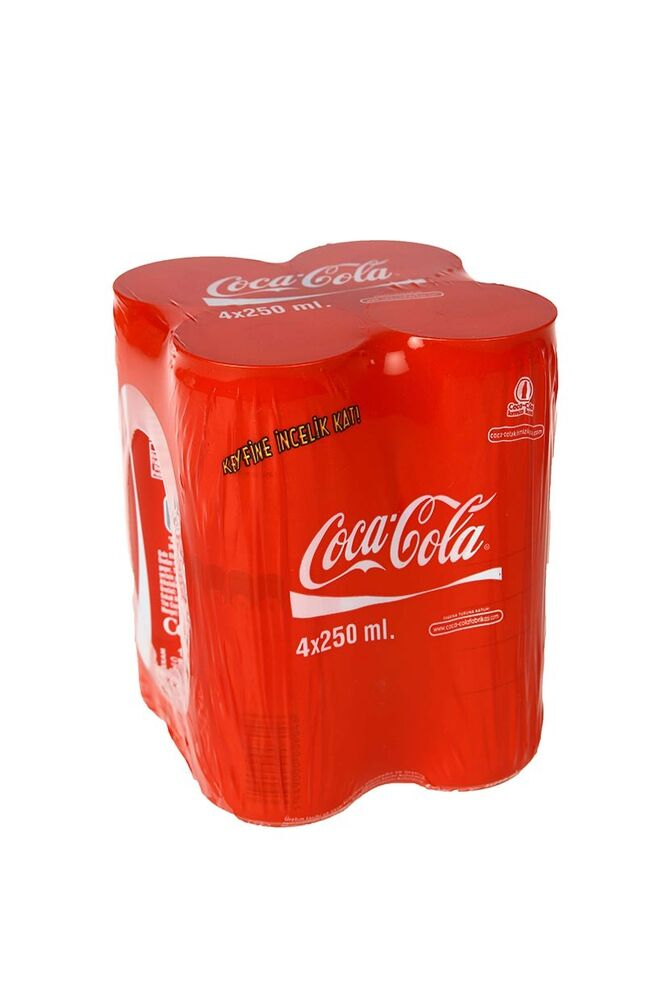 Image for Coca Cola Kutu 4X250Ml from Antalya