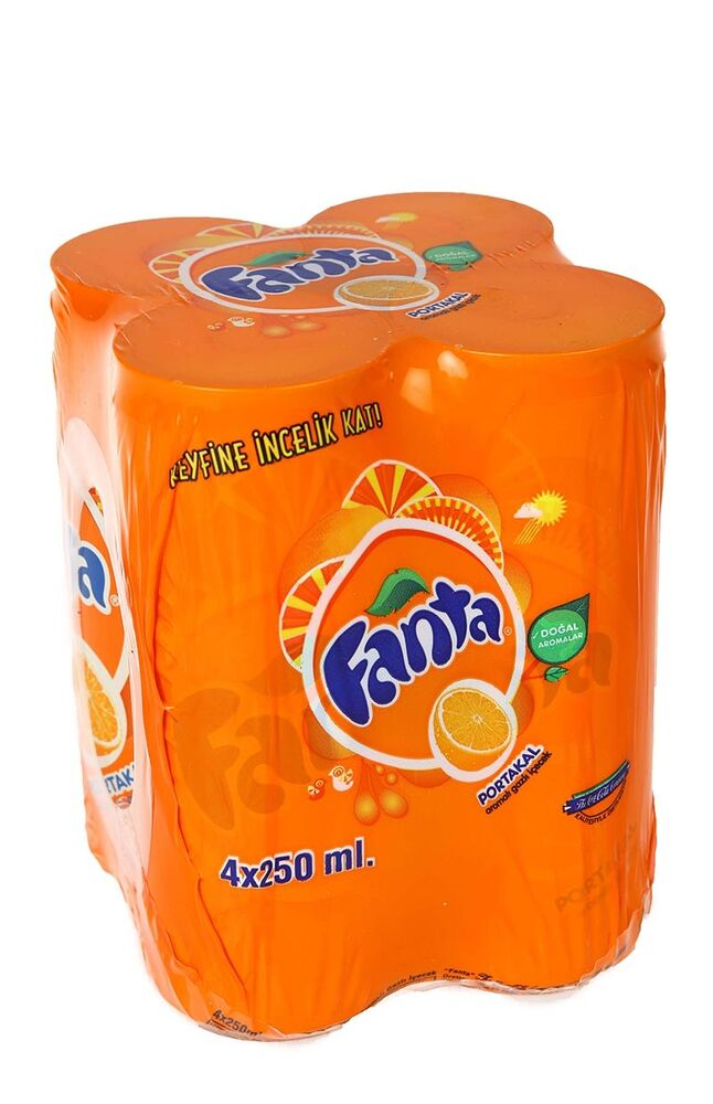 Image for Fanta Kutu 250Mlx4 from İzmir