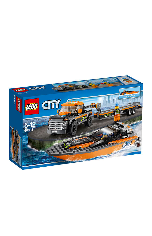 Image for Lego City Police Boat 60085 from Özdilekteyim