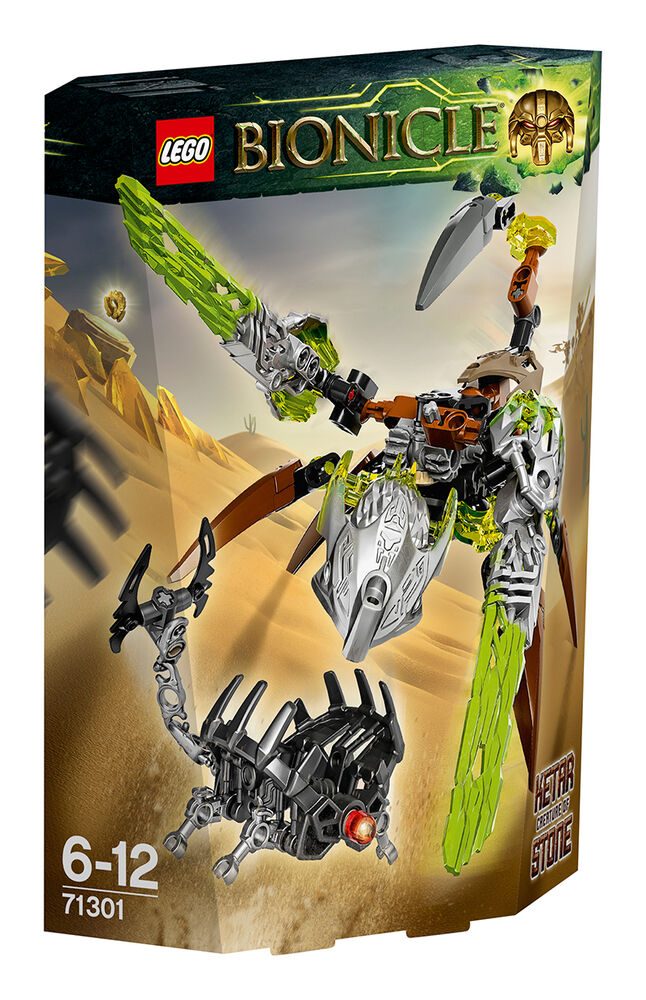 Image for Lego Bionicle Of Stone 71301 from Özdilekteyim