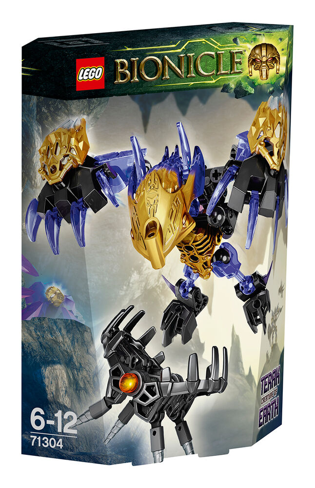Lego Bionicle Of Earth 71304