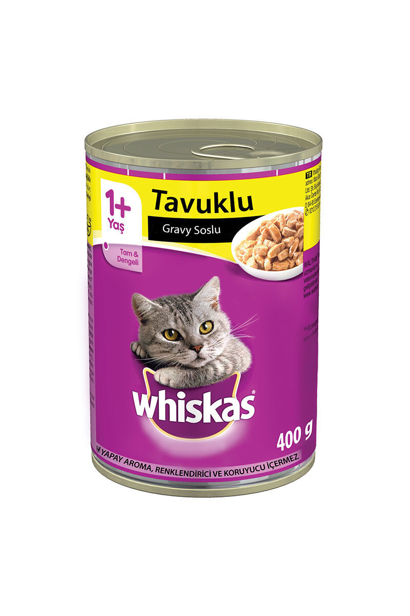 Image for Whiskas Konserve Tavuklu Kedi Maması 400Gr from Bursa