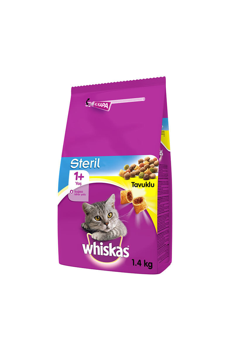 Image for Whiskas Sterlie Tavuklu Kedi Maması 1.4Kg from Bursa