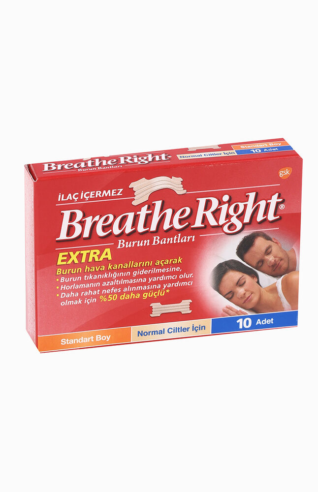 Breathe Rıght Burun Bandı Normal Boy 10'Lu