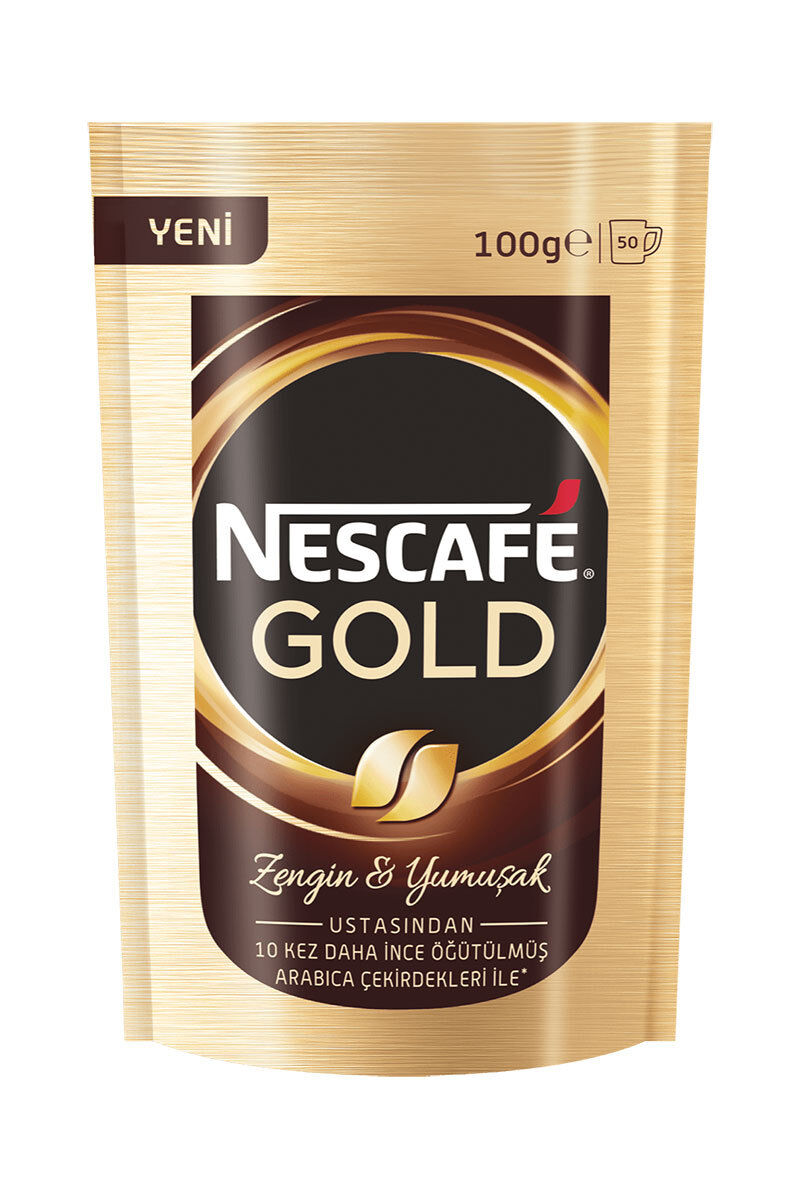 Image for Nescafe Gold Yedek 100Gr from İzmir