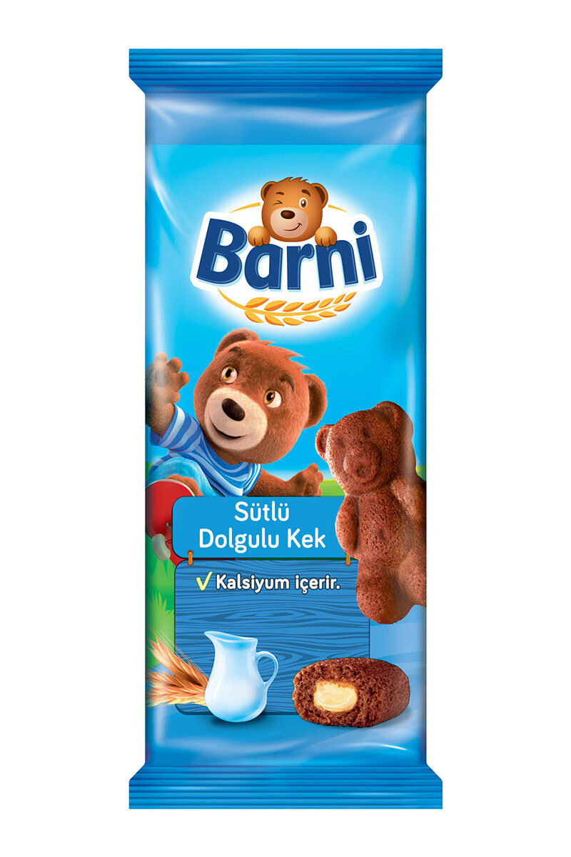 Image for Barni Kek Sütlü 30 Gr. from Bursa