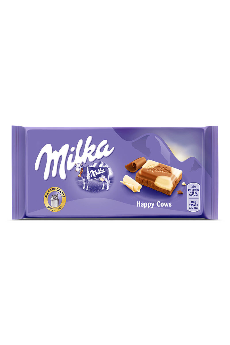 Image for Milka Happycows 100Gr Çikolata Beyaz/Sütlü from Bursa