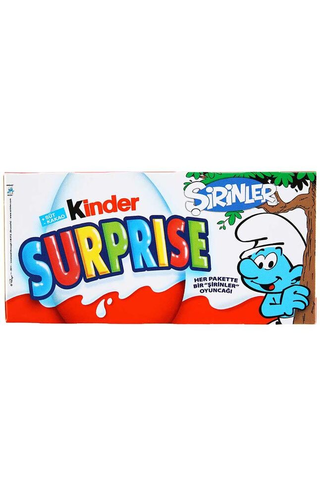 Image for Kinder Suprise 3 lü 3X20 Gr from Kocaeli