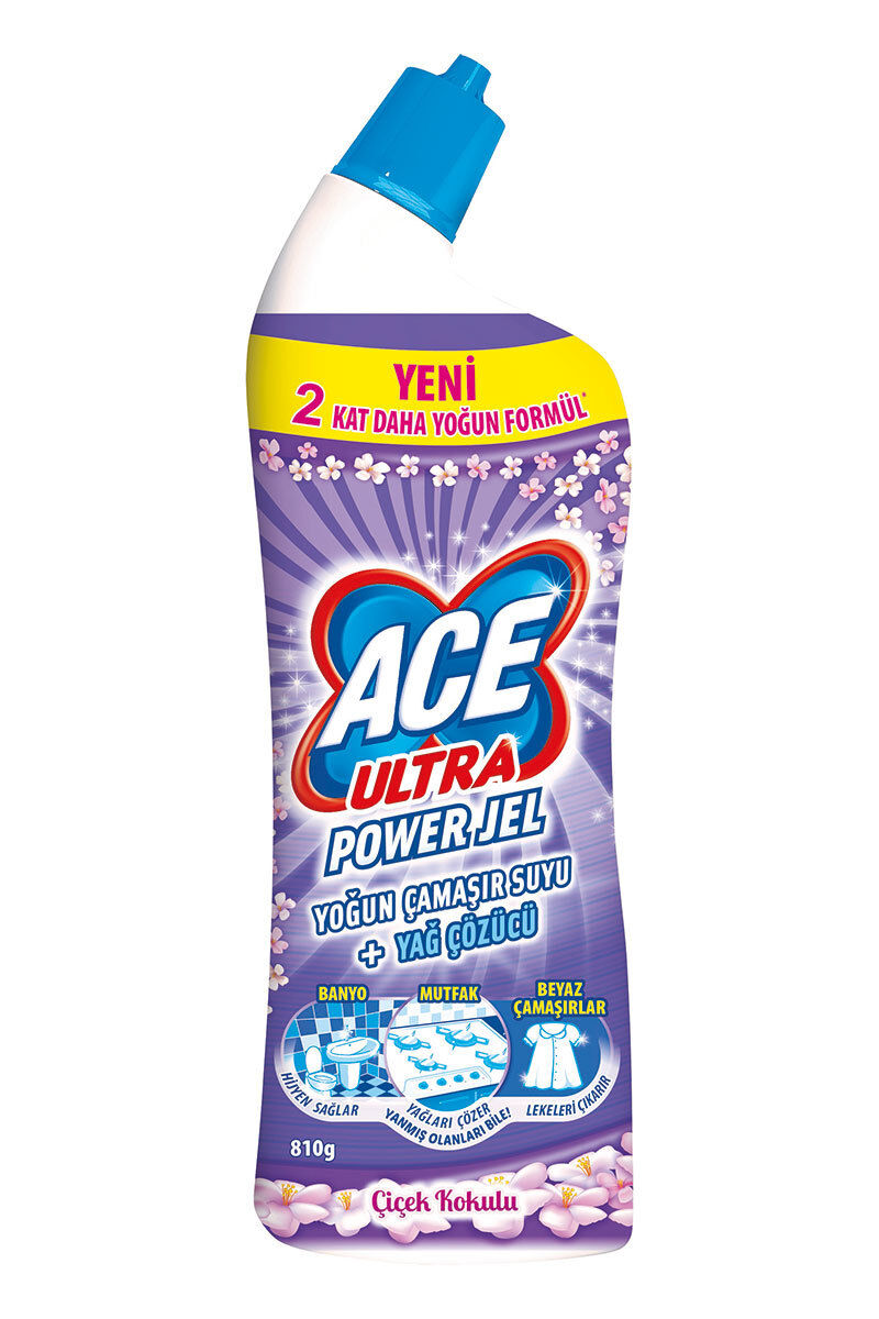 Ace Ultra Powerjel 750 Ml Çiçek Kokulu