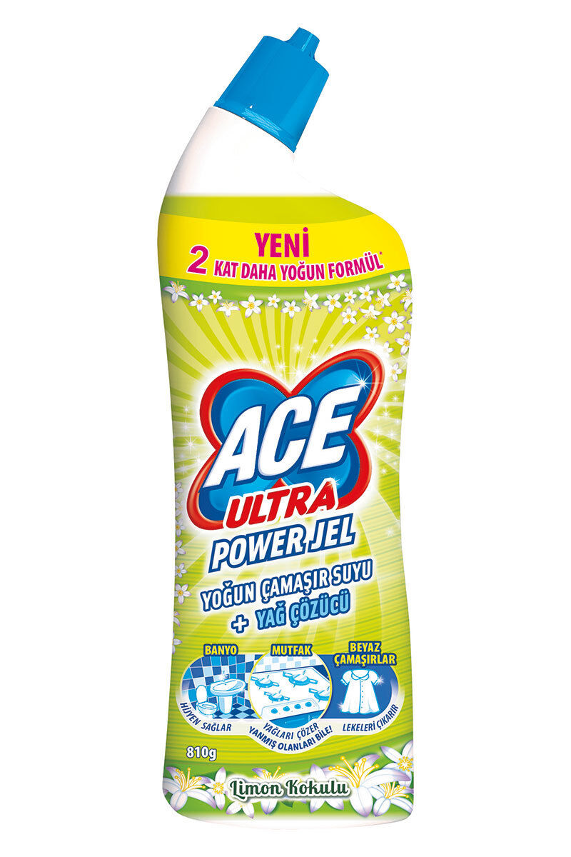 Ace Ultra Powerjel 750 Ml Limon Bahçesi
