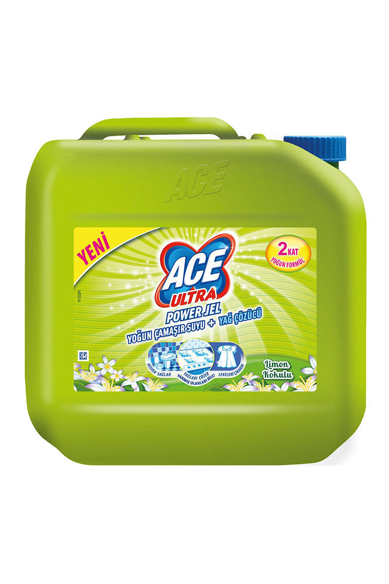 Ace Ultra Powerjel 3 Kg Limon Bahçesi